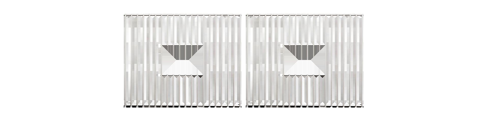 Bottom Grate Set for IWA 4D - BG4D2SS