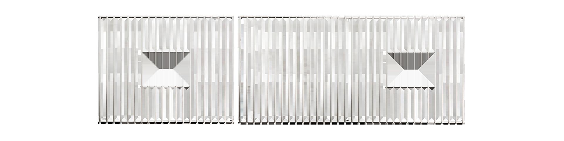 Bottom Grate Set for IWW 5D - BG5D2SS