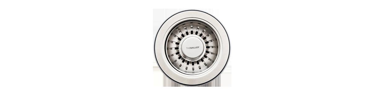 Disposal Flange Strainer Basket & Stopper - GDRNMSS