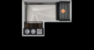 Corner WashStation™ 3X4C Image