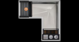 Corner WashStation™ 4X4C Image